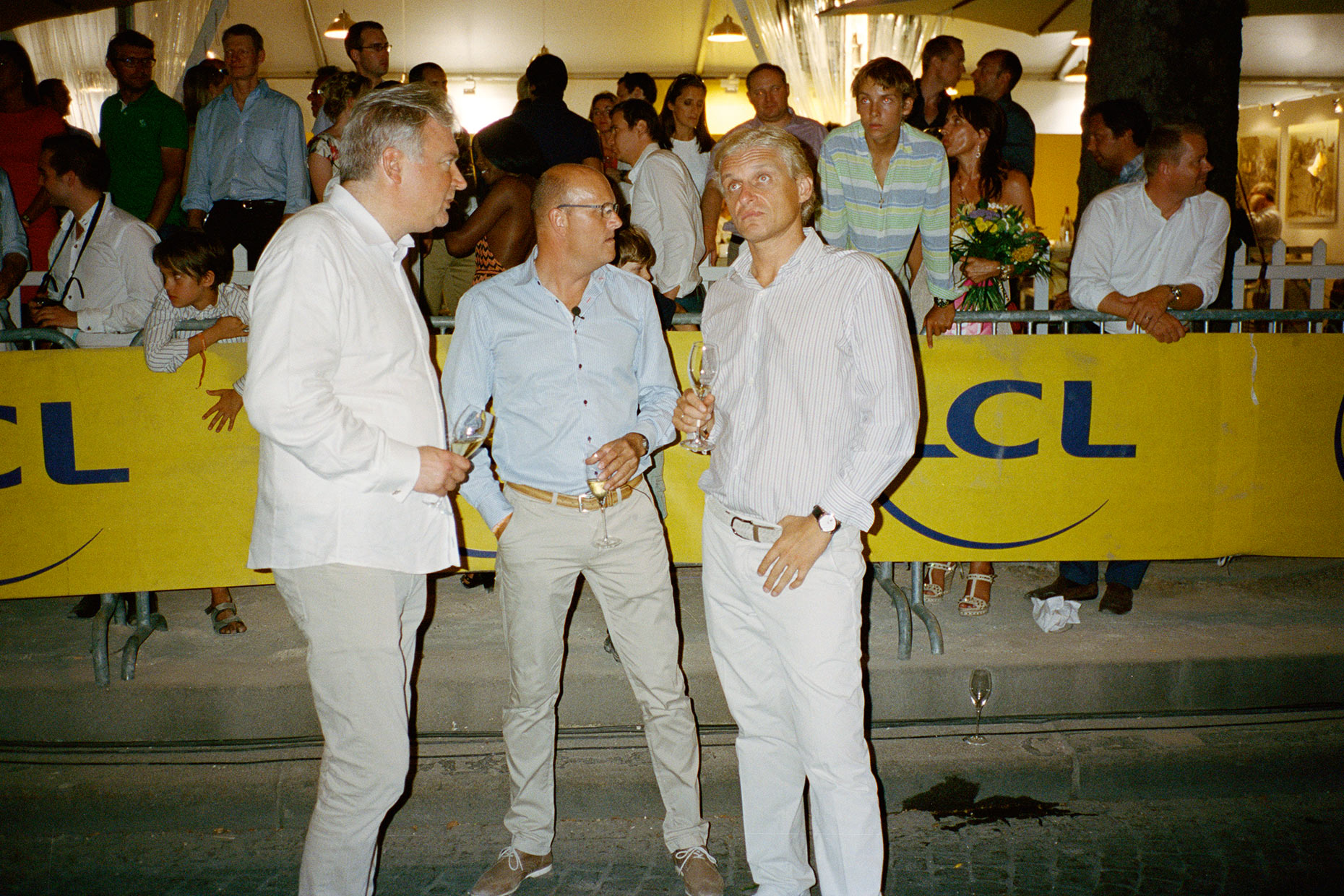 Lars, Bjarne and Oleg